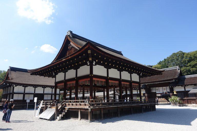 京都自由行-京都景點-一進入京都景點下鴨神社的景象