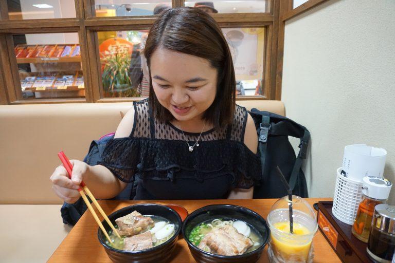 豚肉拉麵-沖繩自由行-沖繩旅遊-沖繩機票