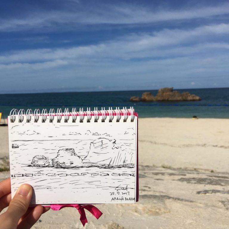 速畫寫生-沖繩自由行-沖繩旅遊-沖繩機票