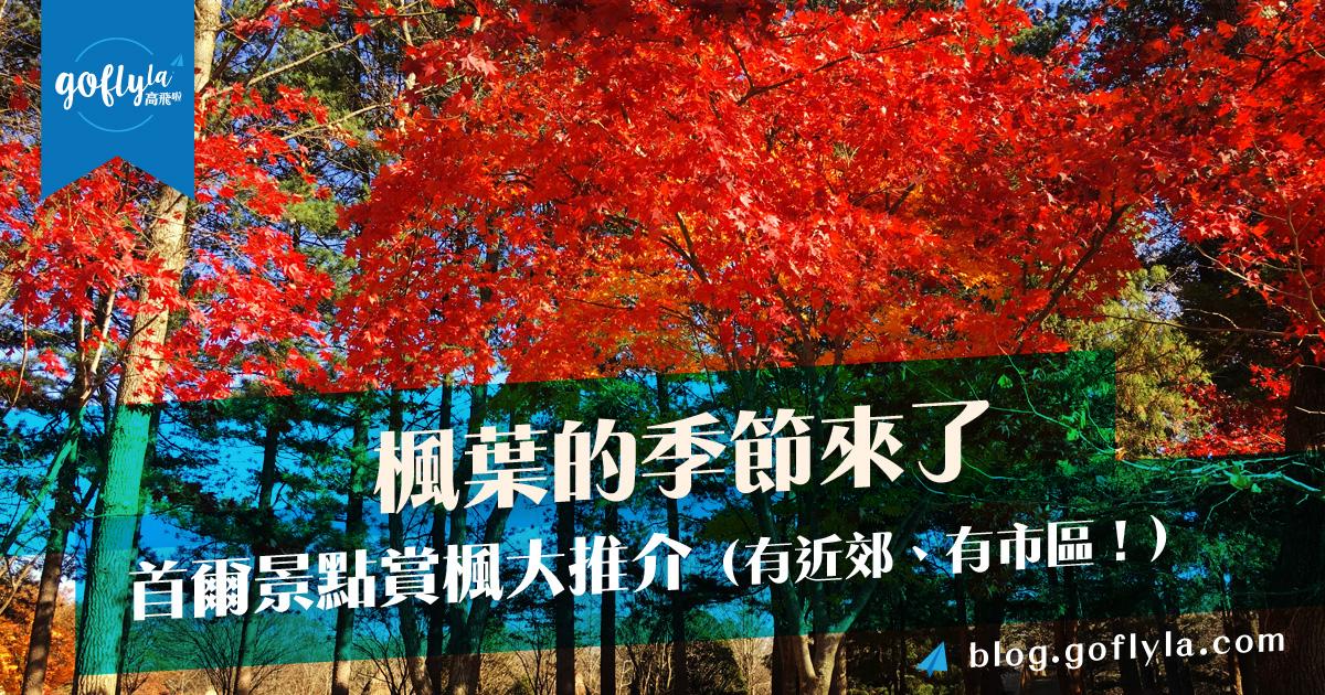 楓葉的季節來了~首爾景點賞楓大推介(有近郊、有市區!)