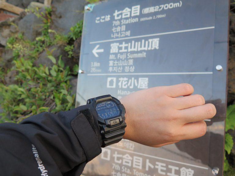 東京自由行-東京景點-東京旅遊-東京住宿-東京機票-54分鐘到達七合目,容易的路已完結