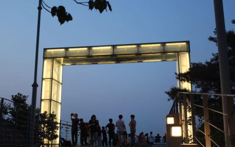韓國自由行-韓國旅遊-韓國機票-前山展望台