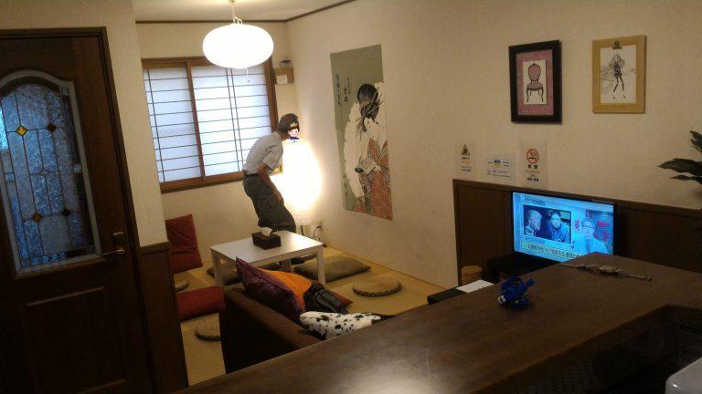 京都自由行-京都景點-京都住宿-大阪自由行-家父好奇的側影