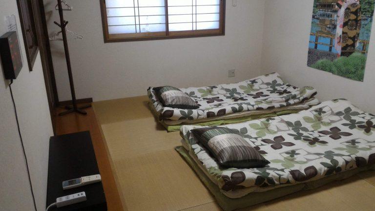 京都自由行-京都景點-京都住宿-大阪自由行-二樓是睡房