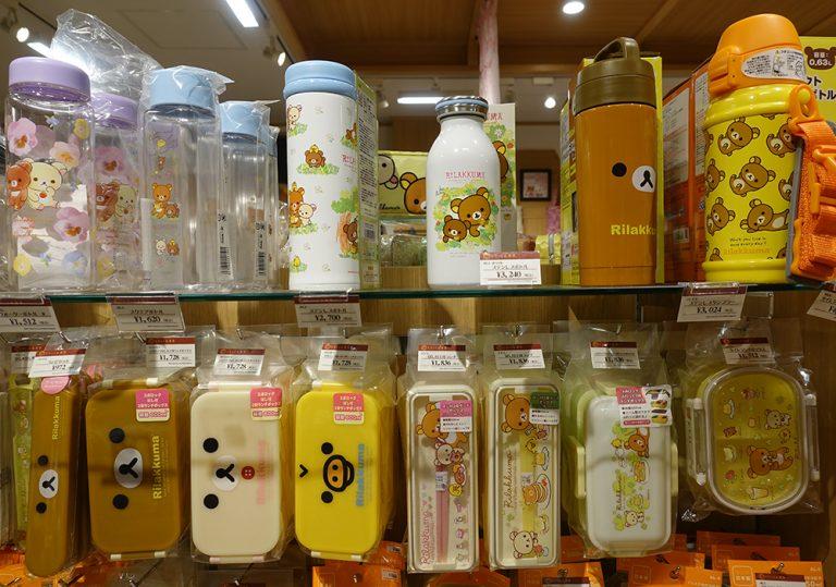 京都自由行-京都景點-各款水樽與餐具