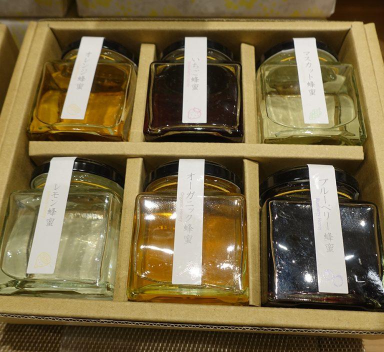 京都自由行-京都景點-不同種類的蜜糖