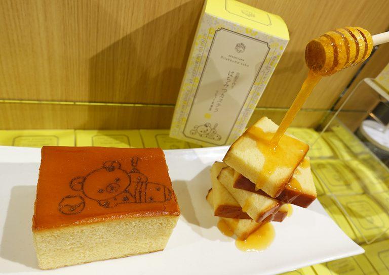 京都自由行-京都景點-會不捨得切的蜂蜜蛋糕