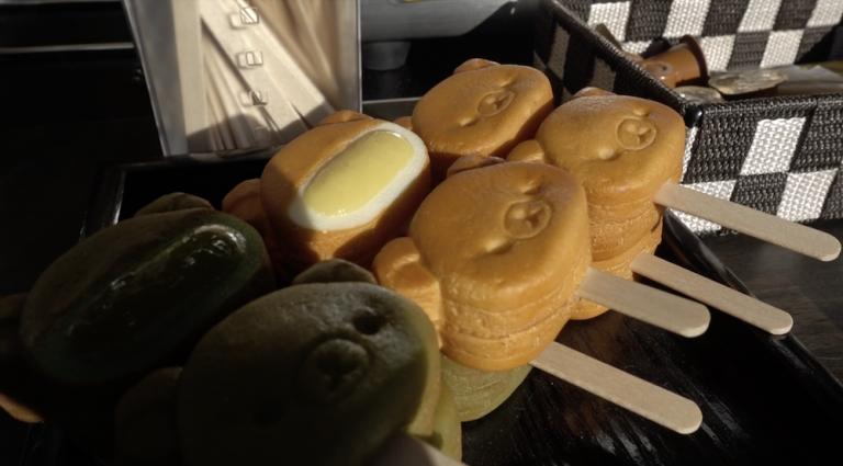 京都自由行-京都景點-鬆弛熊饅頭