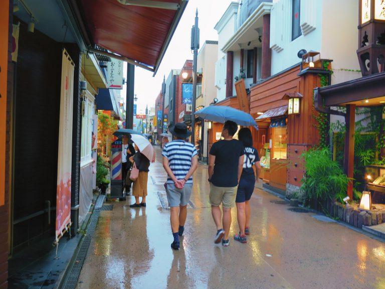 東京自由行-東京機票-東京旅遊-東京景點-東京住宿-東京必去-雨中慢步,好不浪漫