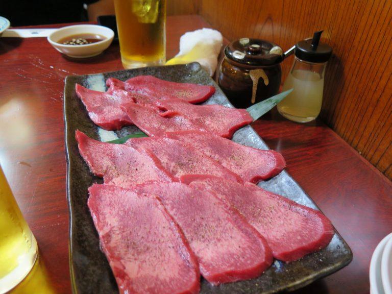 東京自由行-東京機票-東京旅遊-東京景點-東京住宿-東京必去-鹽燒牛舌,味道香濃,夠晒juicy