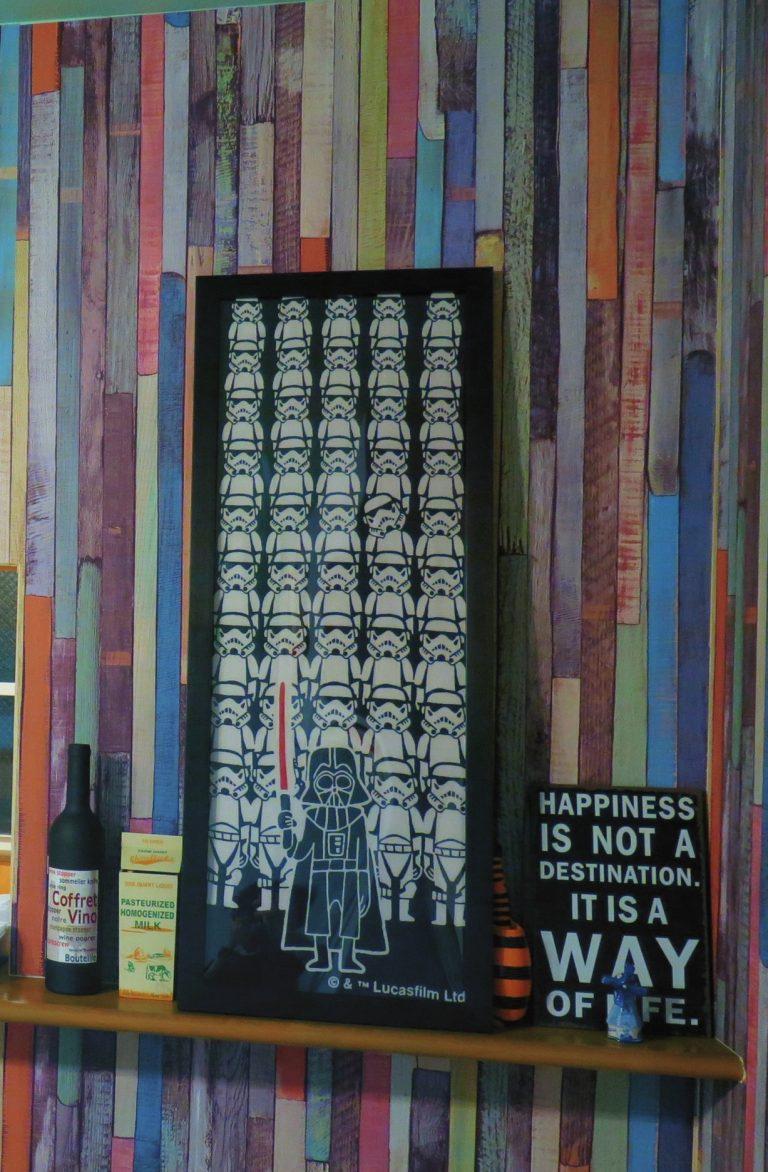 東京自由行-東京機票-東京旅遊-東京景點-東京住宿-東京必去-身為一個starwar迷,如此精美的手拭巾,當然要帶返香港