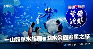 韓國旅遊:首爾近郊一山韓華水族館和湖水公園追星之旅