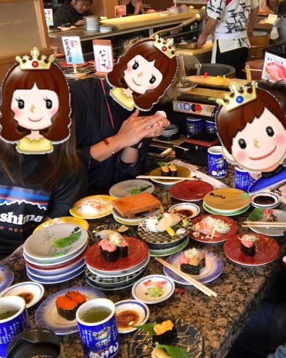 九州自由行-鹿兒島自由行-第一屆暴食壽司大賽