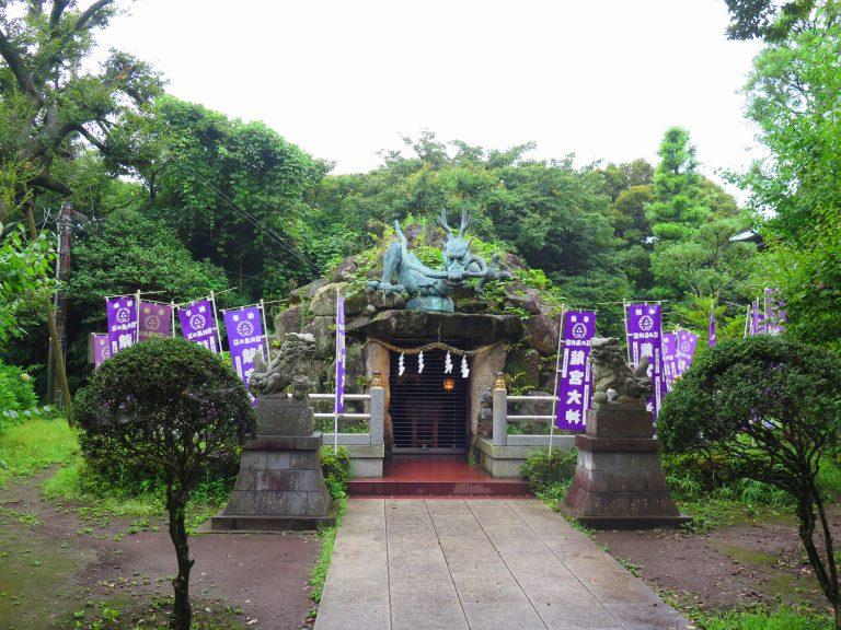 東京自由行-東京機票-東京旅遊-東京景點-東京住宿-東京必去-外型具霸氣的龍宮大神