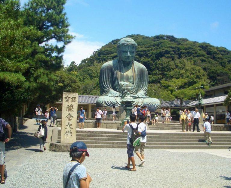 東京自由行-東京機票-東京旅遊-東京景點-東京住宿-東京必去-重達93公噸,以青銅鑄造的大佛