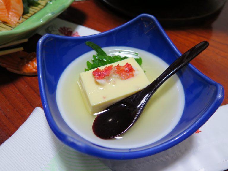 北海道自由行-北海道旅遊-北海道旅遊景點-蟹肉豆腐,口味清新