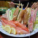 北海道自由行-北海道旅遊-北海道旅遊景點-放湯煮的蟹腳
