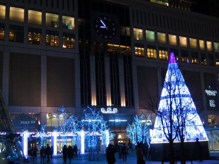北海道自由行-北海道旅遊-北海道旅遊景點-吃飽漫步回旅館,札幌的冬天很迷人啊
