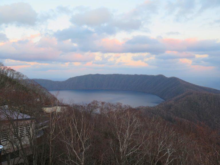 北海道自由行-北海道旅遊-北海道旅遊景點-博物館頂層設有遠眺多樂湖的觀景台