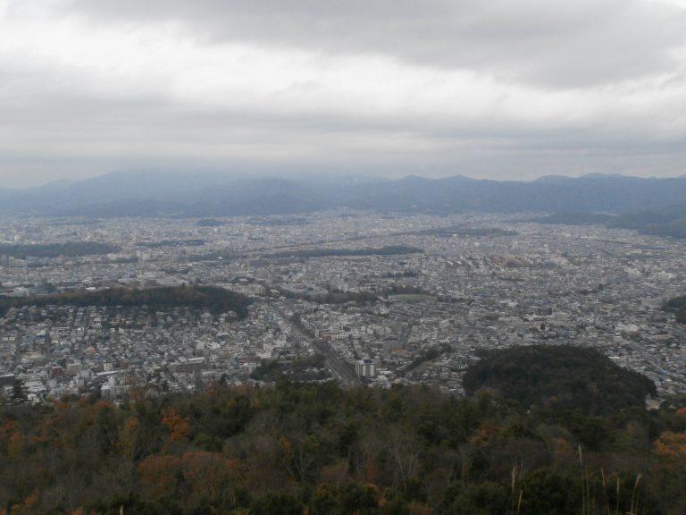 大阪自由行-大阪景點-俯瞰整個京都