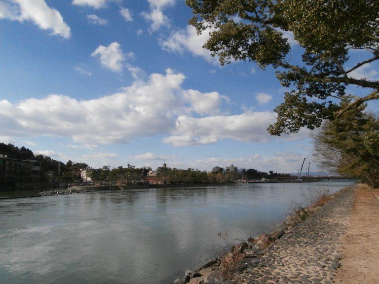 大阪自由行-大阪景點-再往前走便是宇治川