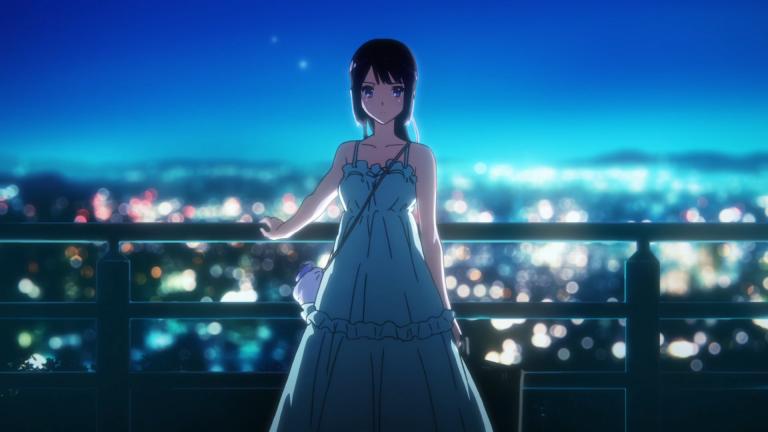 大阪自由行-大阪景點-動畫《吹奏吧!管樂團》女主角在大吉山頂欣賞宇治夜景