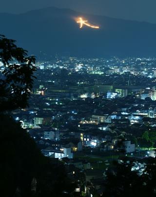 大阪自由行-大阪景點-五山送火