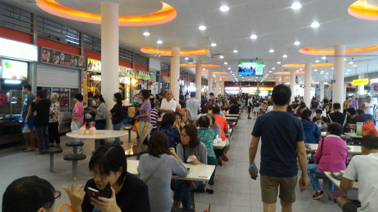 新加坡自由行-新加坡旅遊-新加坡景點-中峇魯市場熟食中心