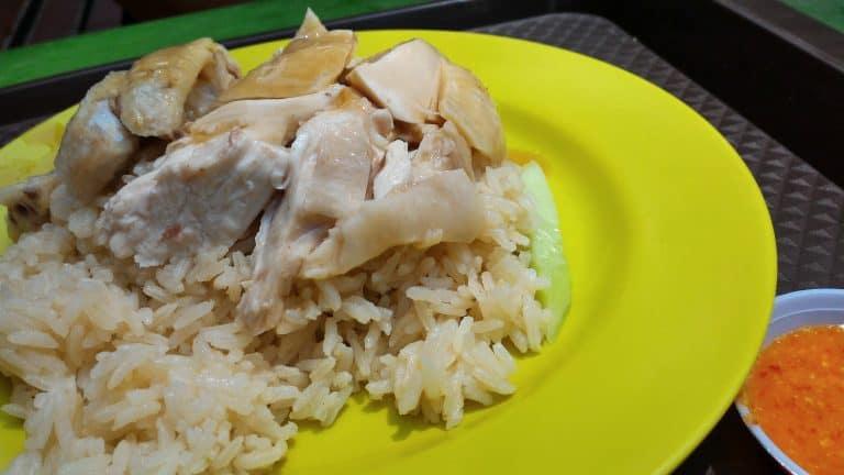 新加坡自由行-新加坡旅遊-新加坡景點-雞飯好好味啊