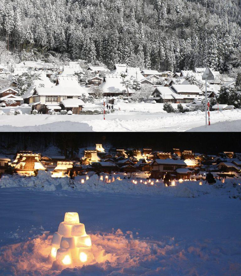 京都自由行-京都景點-冬天雪景