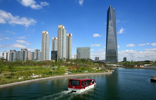 仁川松島一日遊-松島全景-韓國旅遊-韓國機票-韓國自由行