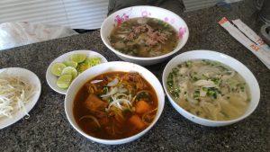 越南自由行-茄汁牛腩河粉、生熟牛肉河粉、雞肉河粉