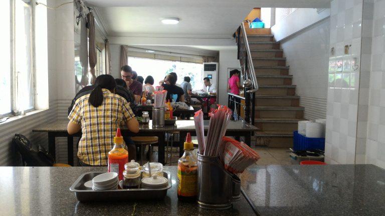越南自由行-餐廳上層內部