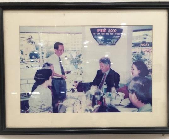 越南自由行-克林頓也是座上客