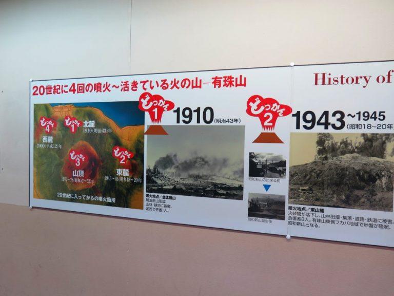 北海道自由行-北海道旅遊-北海道旅遊景點-過去100年曾經爆發過四次的有珠山
