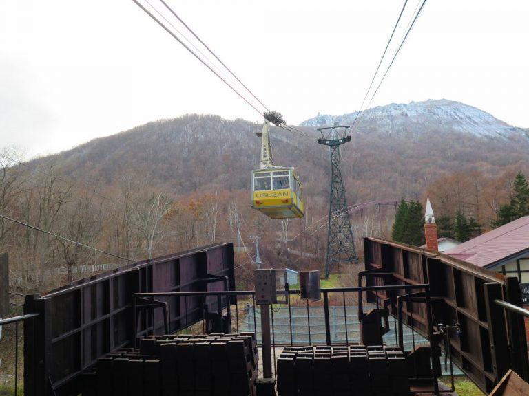 北海道自由行-北海道旅遊-北海道旅遊景點-黃色的纜車要來了