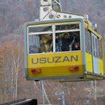 北海道自由行-北海道旅遊-北海道旅遊景點-纜車比想像中大,載客也不少呢