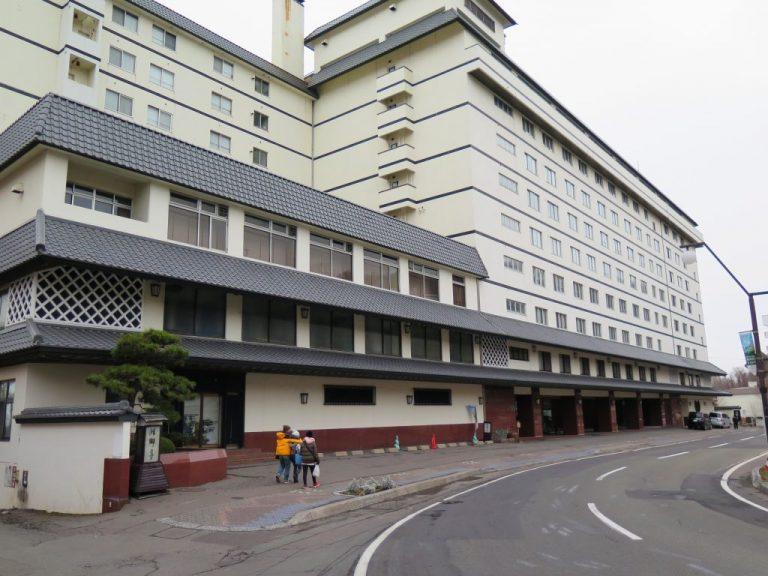 北海道自由行-北海道旅遊-北海道旅遊景點-洞爺湖畔亭旅館外貌