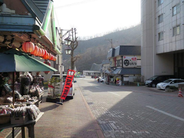 北海道自由行-北海道旅遊-北海道旅遊景點-有點餓意,正好遇上一間蕎麥麵店