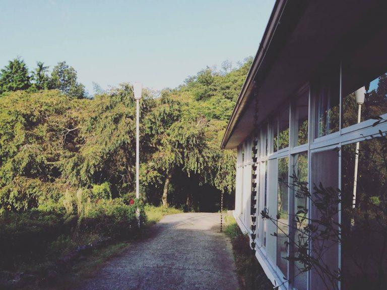 京都自由行-京都景點-從天橋立青年旅舍向外看