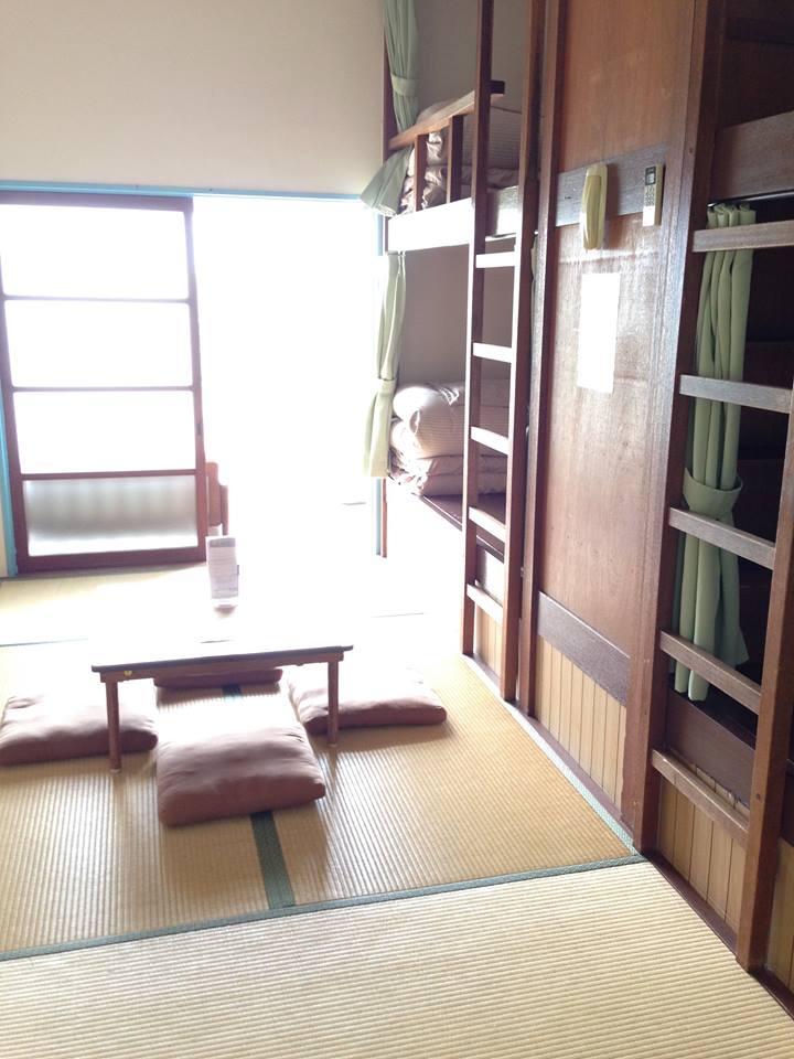 京都自由行-京都景點-共宿房間挺大