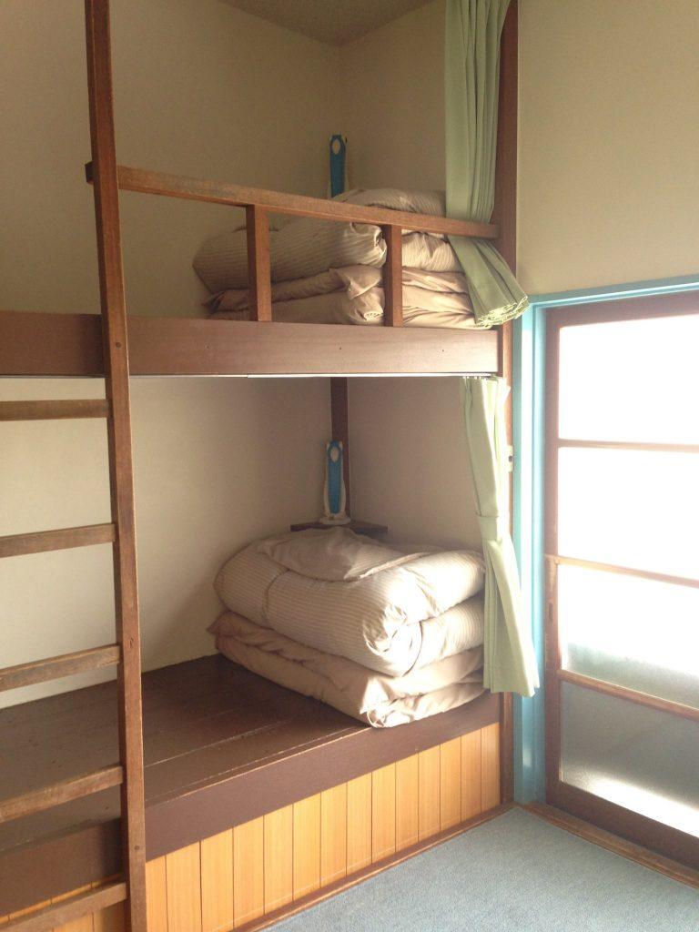 京都自由行-京都景點-床位空間也相當足夠
