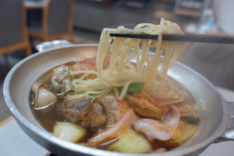 京都自由行-京都景點-使用京都某麵家的特別麵條挺好吃