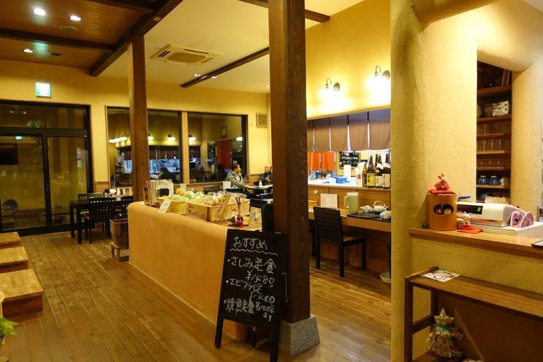 京都自由行-京都景點-餐廳內範圍比想像中空曠