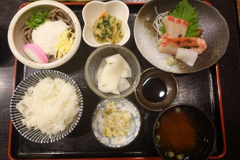 京都自由行-京都景點-豐富的刺身定食
