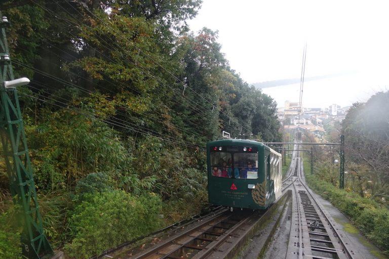 京都自由行-京都景點-上傘松公園的纜車