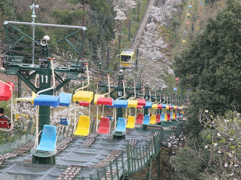 京都自由行-京都景點-很可惜無緣乘搭的單人吊車