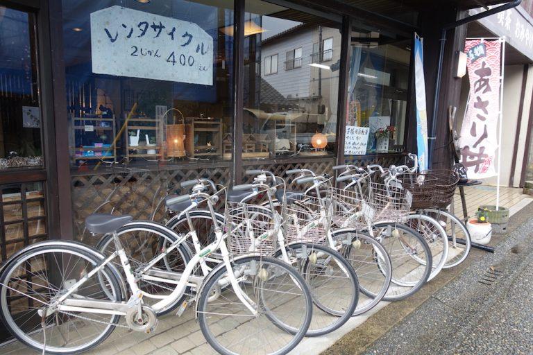 京都自由行-京都景點-出租單車2小時400円