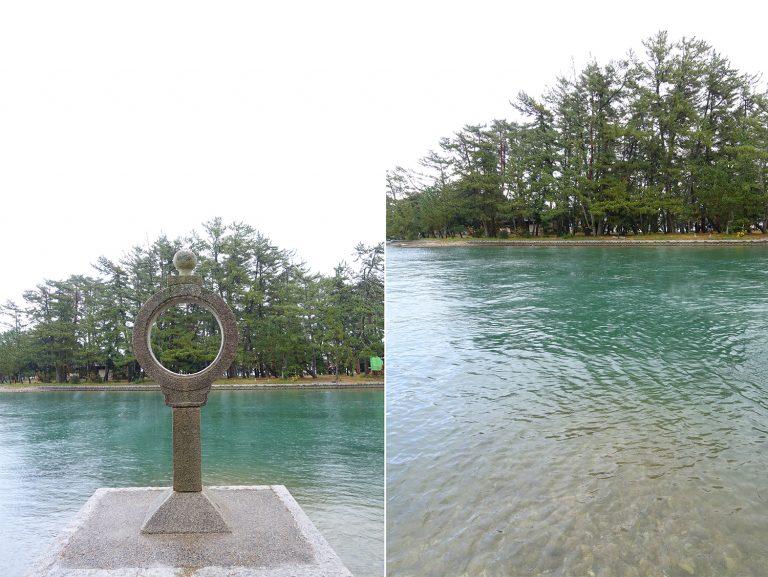 京都自由行-京都景點-海水非常清澈