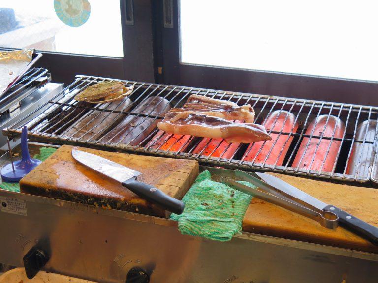 北海道自由行-北海道旅遊-北海道旅遊景點-燒魷魚,快可以了吧